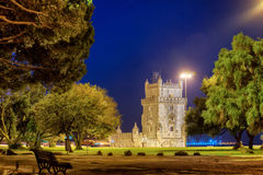 Belem tower in Lisbone city, Portugal Royalty Free Stock Photo