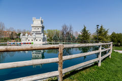 Belem Tower in Madrid Royalty Free Stock Photo