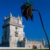 Belem Tower in Lisabon, Portugal Stock Image