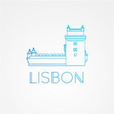 Belem Tower - the symbol of Lisbon Portugal. Royalty Free Stock Image