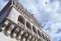 Belem tower on Tagus river, Belem, Lisbon, Portugal. Royalty Free Stock Images