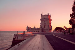 The Belem Tower Royalty Free Stock Photos