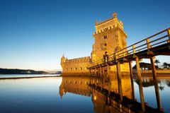 Belem Tower Stock Photo