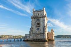 Belem tower - Torre de Belem  in Lisbon, Portugal Stock Photos