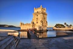 Belem Tower - Torre De Belem In Lisbon Stock Images