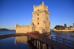 Belem Tower - Torre De Belem In Lisbon Stock Photos