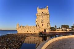 Belem Tower - Torre De Belem In Lisbon Stock Photo