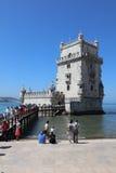 Belem Tower (Tower of Saint Vincent). Lisbon Royalty Free Stock Photo
