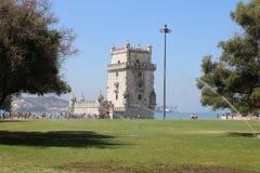 Belem Tower (Tower of Saint Vincent). Lisbon Stock Photo