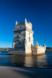 Belem Tower or the Tower of St Vincent in Lisbon Stock Photo