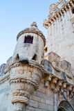 Belem Tower or the Tower of St Vincent in Lisbon Royalty Free Stock Photo