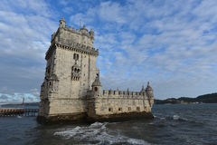 Belem tower view, LIsbon, Portugal Stock Photo