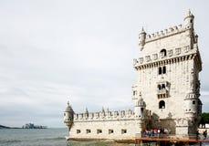 Belem-Turm auf dem Tajo in Lissabon, Portugal Stockfoto