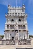 Belem-Turm, Lissabon, Portugal Lizenzfreie Stockfotos
