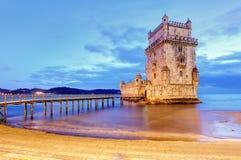 Belem-Turm, Lissabon, Porugal lizenzfreies stockbild