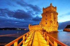 Belem-Turm, Lissabon, Porugal stockfoto