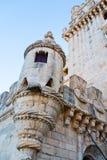 Belem-Turm oder der Turm von St. Vincent in Lissabon Lizenzfreies Stockfoto