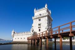Belem-Turm oder der Turm von St. Vincent in Lissabon, Portugal stockbild