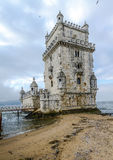 belem wierza Lisbon Portugal Obrazy Royalty Free