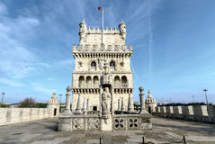 belem wierza Lisbon Portugal Fotografia Royalty Free