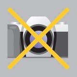 Belemmerend teken Geen Foto Stock Fotografie