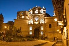 Belen教会,卡哈马卡秘鲁 库存图片