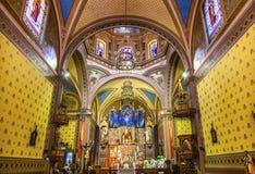 Belen瓜纳华托州墨西哥大教堂寺庙  免版税图库摄影