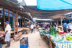 Belen Market, Iquitos, Perù immagine stock