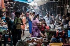Belen Market in Iquitos. IQUITOS, PERU - JUNE 17, 2015: View of Belen Market in Iquitos royalty free stock images