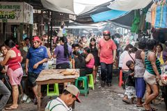 Belen Market in Iquitos royalty free stock images