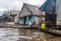 Belen neighborhood of Iquitos royalty free stock photos