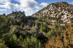Belenguera Valley Royalty Free Stock Images