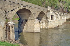 Old Belenski bridge - Landmark attraction in Bulgaria Stock Photography