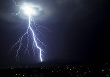Beleuchten des Schlagwaldes Lizenzfreies Stockfoto