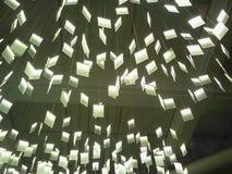 Beleuchten in einem Restaurant Stockfotografie