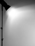 Beleuchten Sie auf der Wand. Stockfotos