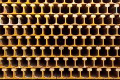 Beleuchten Sie Schienen-Stahl. Stockbilder
