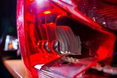 Beleuchtet Auto Stockbilder