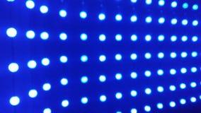 Beleuchtet blaue Zusammenfassung Stockbild