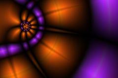 Beleuchtet Hintergrund II Lizenzfreies Stockfoto