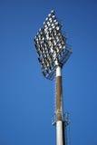 Beleuchtet Stadion Stockfoto