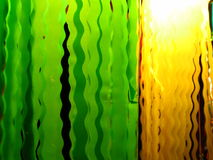 Beleuchtete Strudel Stockfotos