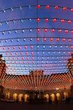 Beleuchtetes Quadrat, Turin Lizenzfreie Stockfotos