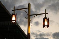 Beleuchtung bei ChiangKan stockbild