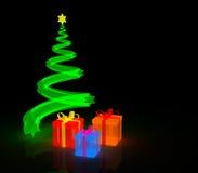 Beleuchtung-Geschenke Lizenzfreie Stockfotos