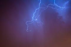 Beleuchtung Skyscape Lizenzfreies Stockbild