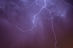 Beleuchtung Skyscape Lizenzfreie Stockfotos