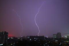 Beleuchtung-Sturm Lizenzfreies Stockfoto