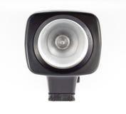 Beleuchtungausrüstung der Kamerarecorder Stockfotografie