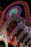 Beleuchtungen in Lyon Stockfoto